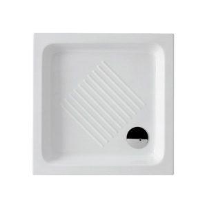 GSI Basic 4375 75Χ75cm Ντουζιέρα Πορσελάνη Τετράγωνη
