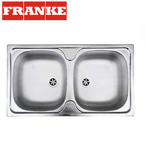Franke Collibri 620 78x43,5cm Λείος-Inox Ένθετος Νεροχύτης 3011585002