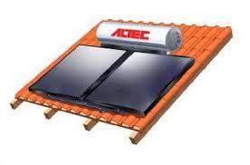 Ηλιακός θερμοσίφωνας ALTEC GLASS 160 / 2,4 Με Βάση Κεραμοσκεπής