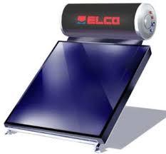 Elco Ηλιακός Θερμοσίφωνας EL-160 SOL-TECH / 2,4 Διπλής Ενέργειας Επιλεκτικός 160 Λίτρα