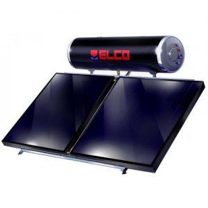 Elco Ηλιακός Θερμοσίφωνας EL-200 SOL-TECH / 3,0 Διπλής Ενέργειας Επιλεκτικός 200 Λίτρα