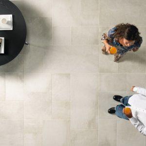 Πλακάκι Δαπέδου Εσωτερικού-Εξωτερικού Χώρου Del Duca Les Dalles Blanc  50x50 & 50x100 cm