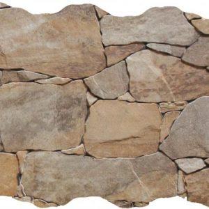 Πλακάκι Επένδυσης Τοίχου Τύπου Πέτρας Ribasos Natural 33X55
