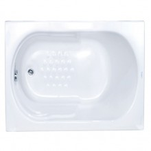 Sanitec Gloria 524 105x70 Μπανιέρα Ακρυλική