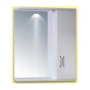 Καθρέπτης Κρεμαστός Μπάνιου με Ντουλάπι PVC Gloria Fino 1 (15-0007) 62x55cm