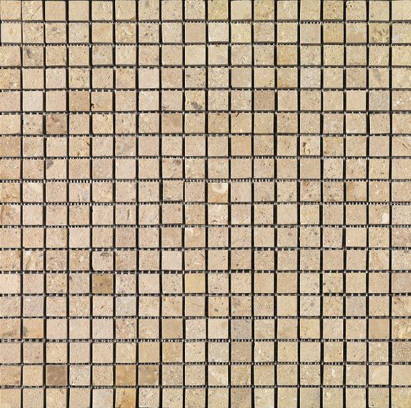 Imso Ψηφίδα Χώρου Πέτρας από Φυσικό Μάρμαρο 1,7x1,7 Beige/Grigio/Nero