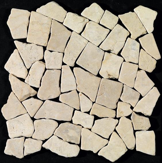 Imso Palladiana Ψηφίδα Πέτρινη 30x30 Bianco/Onyx/Nero/Fossil/Mielle/Grigio/Cotto