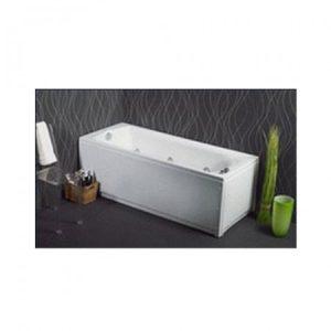 Sanitec Rosa 549 140x70 Μπανιέρα Ακρυλική με επιλογή Υδρομασάζ