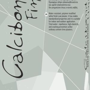 Calcit Calcibond Final Σοβάς τελικής στρώσης 25kg
