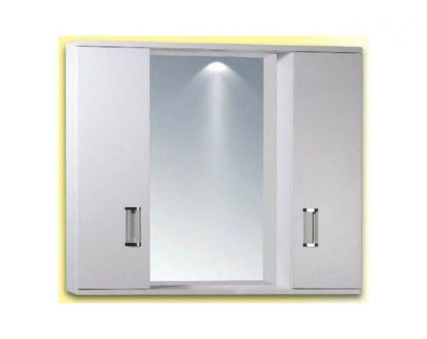 Καθρέπτης Κρεμαστός με Ντουλάπια PVC Gloria Fino 2 (15-0008) 72x55cm