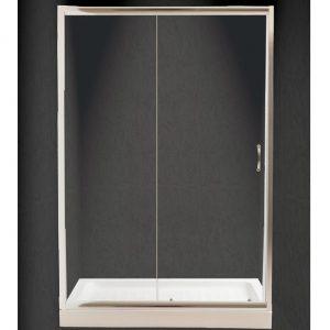 Πόρτα Ντουζιέρας Nude Διάφανη Τοίχο-Τοίχο 140x180cm