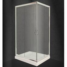 Καμπίνα Ντουζιέρας Nude Διάφανη Ασύμμετρη 80x120cm