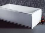 Sanitec Quadra 533Q 170x70 Μπανιέρα Ακρυλική με επιλογή Υδρομασάζ