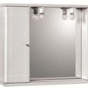 Καθρέπτης Μπάνιου με Ντουλάπι Κρεμαστός Gloria Sandy 1 (27-6255) 62x55cm
