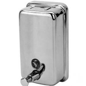 Dispenser Μπάνιου Gloria Inox (13-0680) Σαπουνοθήκη Υγρού Σαπουνιού 0,85 lt