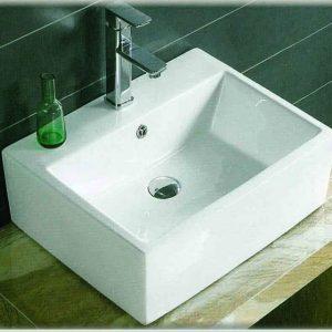 Gloria Bel-Kare 52.5x42x16cm Νιπτήρας Μπάνιου Κρεμαστός/Επίτοιχος / Επιτραπέζιος (17-4826)