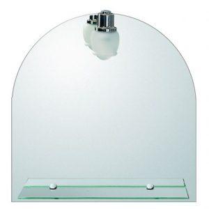 Καθρέπτης με Εταζέρα και Φώς Gloria Conic 50x55h (42-5700)