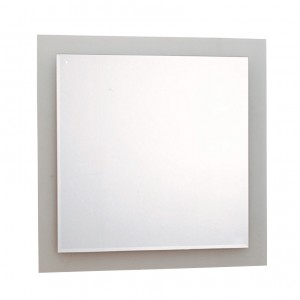 Καθρέπτης Tema Πάχους 4mm Πλαίσιο γυαλί ζαγρέ 55x55cm (76005)