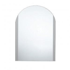 Καθρέπτης Tema Πάχους 4mm Πλαινό Πλαίσιο με Αμμοβολή 40x54cm (76028)