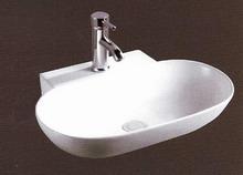 Νιπτήρας Μπάνιου Επικαθήμενος / Επιτραπέζιος & Κρεμαστός/Επίτοιχος Ceramita F669  56x40x12.5cm