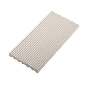 Πλακάκι Πισίνας Λευκό 12x25x0.8cm Porselanato Ειδικό Τεμάχιο Αντιολισθητικό
