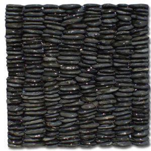 Akrolithos Βότσαλο Κάθετο Μαύρο 30x30cm