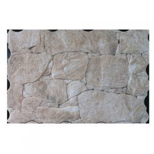 Πλακάκι Επένδυσης Τοίχου Τύπου Πέτρας Ribassos Crema 33Χ55 cm