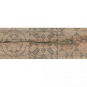 Πλακάκι Δαπέδου Εσωτερικού Χώρου Τύπου Ξύλου Decor Kivu Roble 17.5Χ50 cm