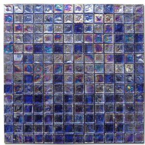 Akrolithos Ψηφίδα Γυαλάκια Μπλέ 2x2cm