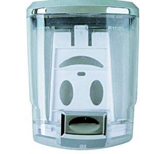 Dispenser Μπάνιου Gloria Tigra (12-0800) Σαπουνοθήκη Υγρού Σαπουνιού 1 lt Χρωμέ