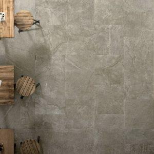 Πλακάκι Δαπέδου Μεγάλων Διαστάσεων Cerdisa Blackboard Mud Porcellanato Εσωτερικού-Εξωτερικού Χώρου 60X60 &60X120 cm