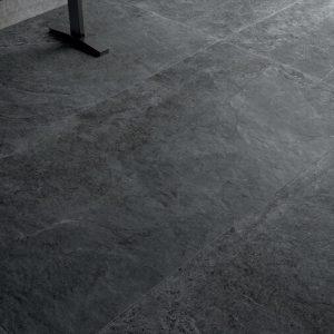 Πλακάκι Δαπέδου Cerdisa Blackboard Anthracite Porcellanato Εσωτερικού-Εξωτερικού Χώρου 60X60 &60X120 cm