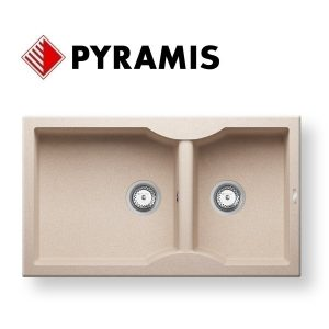 Pyramis Pyratek Aeolia 86x50 Νεροχύτης Κουζίνας Συνθετικός  1 3/4B