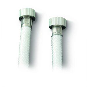Σπιράλ Ντούζ PVC - Λείο 62210201 Λευκό 150cm