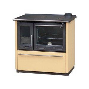 Plamen 850 Glass Μαντεμένια Ενεργειακή Σόμπα-Κουζίνα Ξύλου
