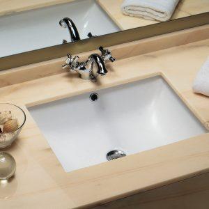 Sanindusa Biar 52.5x39cm Υποκαθήμενος Νιπτήρας Μπάνιου 118350