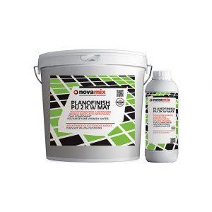 Βερνίκι 2 Συστατικών για Ματ Φινίρισμα Novamix Planofinish PU 2KW Mat (1lt)