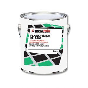 Βερνίκι Εμποτισμού για Σατινέ Μάτ Εμφάνιση Novamix Planofinish PU Mat (1kg)