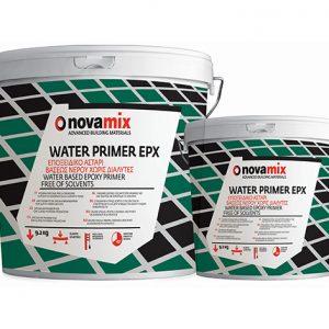 Εποξειδικό Αστάρι 2 Συστατικών για Απορροφητικά Υποστρώματα Novamix Water Primer EPX (3kg)