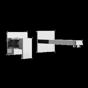 Paini Dax Επιτοίχια Μπαταρία Νιπτήρος Αναμεικτική Χρωμέ 84CR208RQ