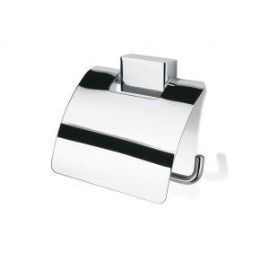 Geesa Bloq 7008 Χαρτοθήκη Μπάνιου με κάλυμμα
