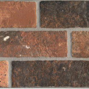 Πλακάκι 16Χ40cm Επένδυσης Τοίχου Τύπου Πέτρας Keradom Argille Rame Porcellanato/Γρανίτης