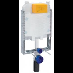 Ideal Standard Deco C6611AA Εντοιχιζόμενο Καζανάκι 2 λειτουργιών για Κρεμαστή Λεκάνη με πλαίσιο (8cm)