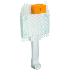 Ideal Standard Deco C661001 Εντοιχιζόμενο Καζανάκι 2 λειτουργιών για Υψηλής πίεσης Λεκάνη
