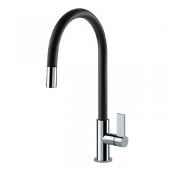 Franke Ambient Standard Χρωμέ/Μαύρο Ψηλή Μπαταρία Κουζίνας 3156256002