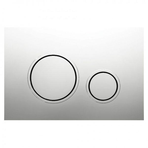 Bocchi Circle P47 Chrome Easy Touch Χρώμιο Πλακέτα Χειρισμού Για Καζανάκι Εντοιχισμού