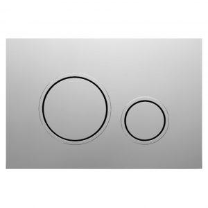 Bocchi Circle P47 Satin Easy Touch Σατινέ Πλακέτα Χειρισμού Για Καζανάκι Εντοιχισμού