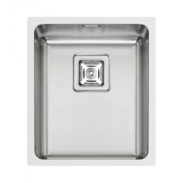 Pyramis Lume 34x40cm Ανοξείδωτος Νεροχύτης Κουζίνας Λείος 1B 101023601