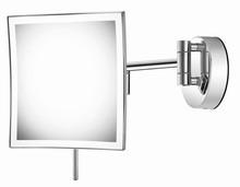 Sanco A3-MR-LED-205 Επιτοίχιος Φωτιζόμενος 6w Led Μεγεθυντικός Καθρέπτης Χρωμέ Hotel Inspiration
