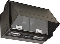 Pyramis Turbo Essential 60cm Απορροφητήρας Πτυσσόμενος με Μεταλλικά Φίλτρα Καφέ 065023801